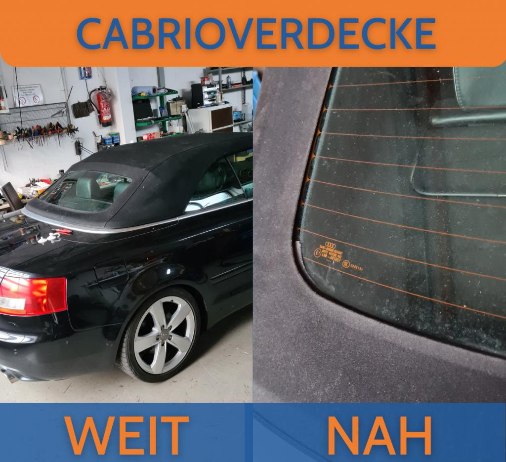 Cabrio Verdeck Audi A4 Guth